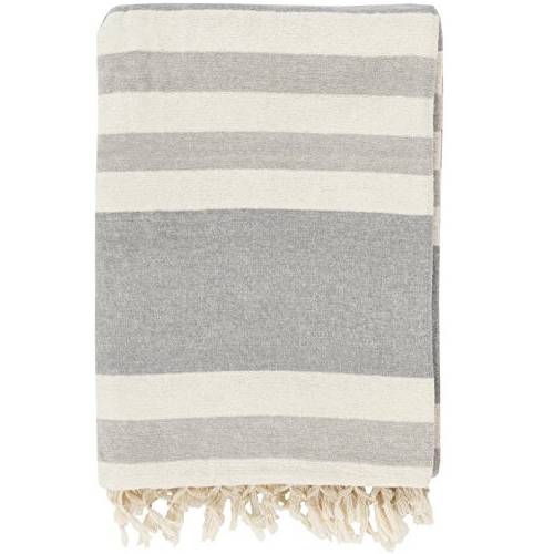 Pulp Home - Troy Throw - Gray