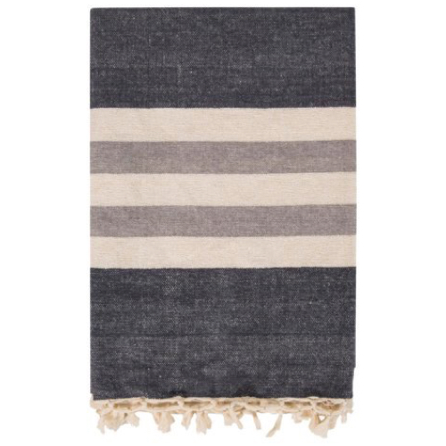 Pulp Home - Troy Throw - Charcoal