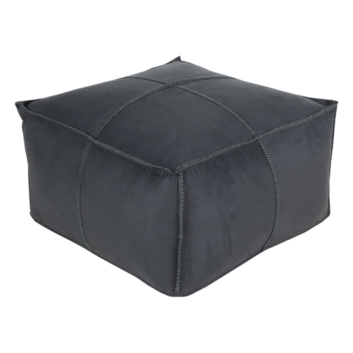 Pulp Home - Charcoal Pouf