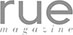 rue magazine media logo
