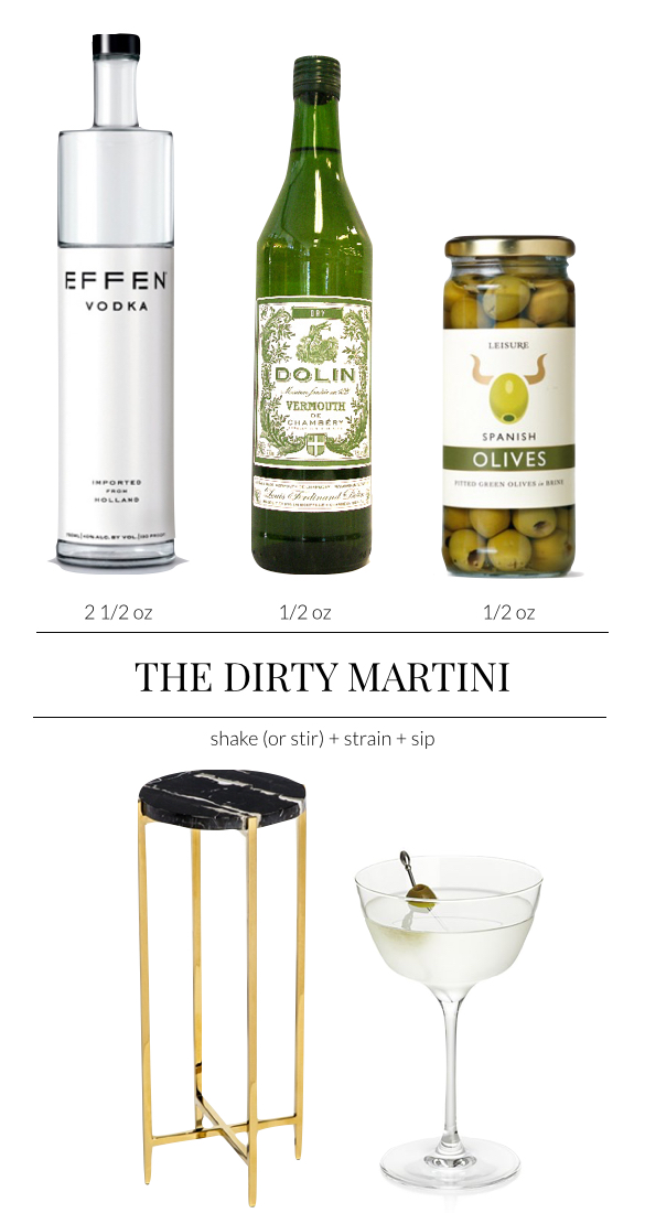 Pulp Design Studios - Dirty Martini Cocktail