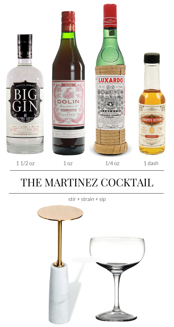 Pulp Design Studios - Martinez Cocktail