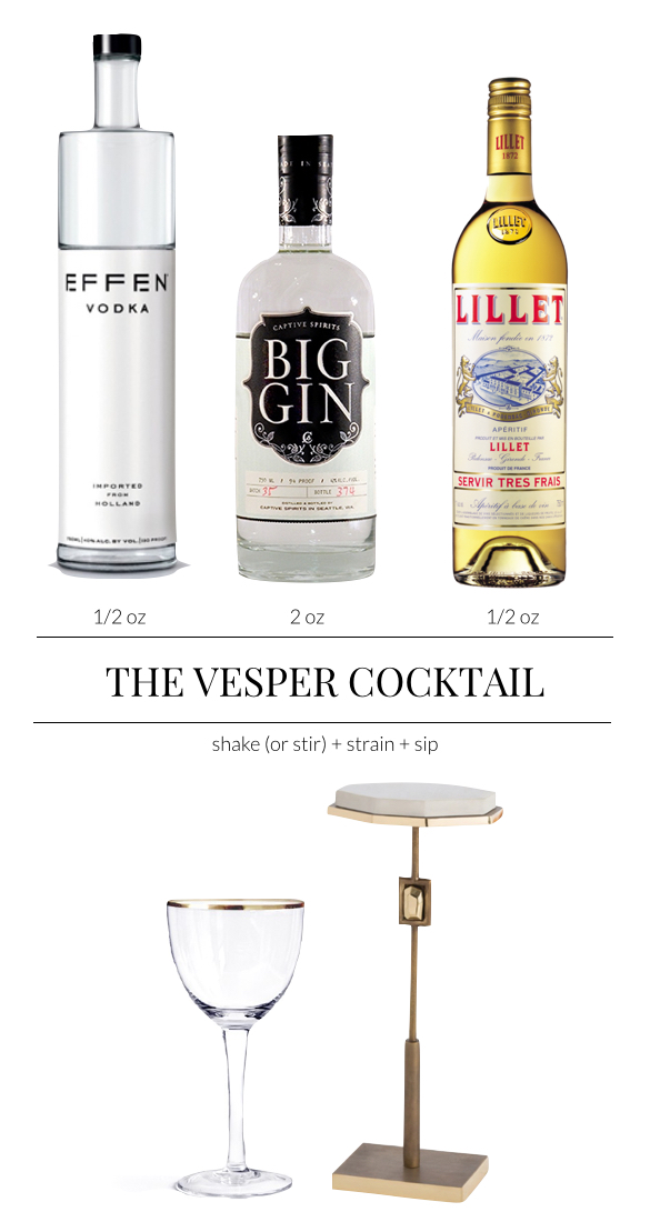 Pulp Design Studios - Vesper Cocktail