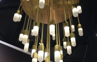 Top Trend from HPMKT: Brass, White, & Acrylic