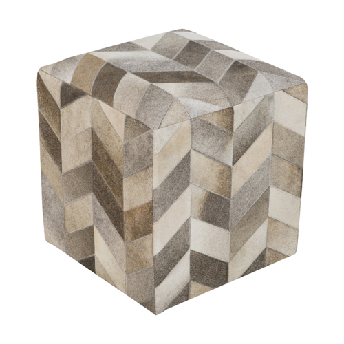 Pulp Home – Appalachian Chevron Pouf