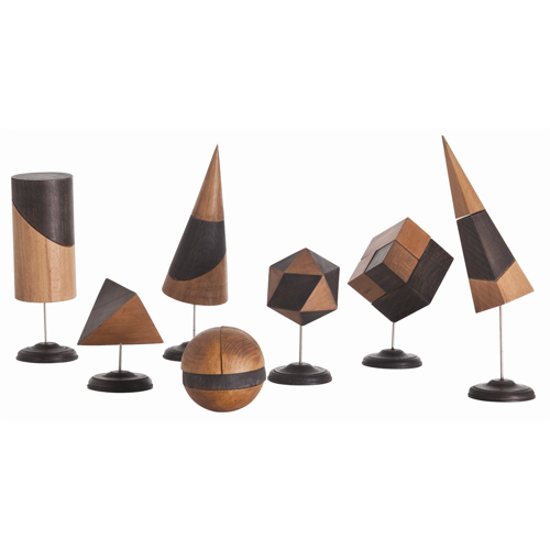 Pulp Home – Geo Sculpture, Set of 7