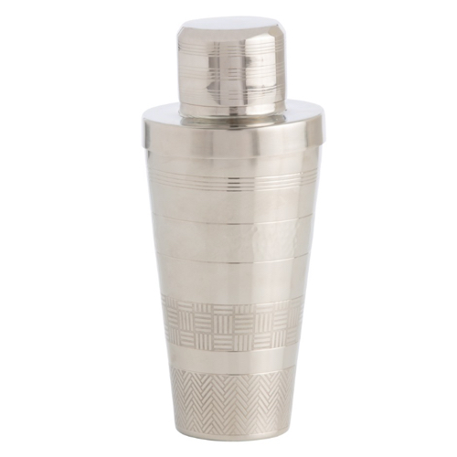 Pulp Home - Rickey Coctail Shaker - Silver