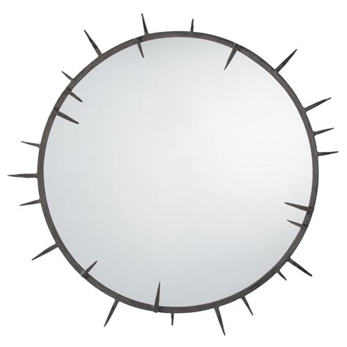 Pulp Home - Spiked Round Mirror