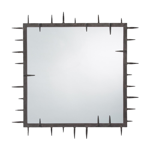 Pulp Home - Spiked Square Mirror