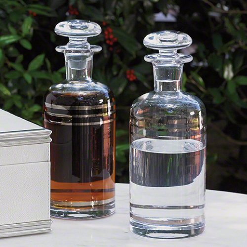 Pulp Home - Platinum Banded Decanter