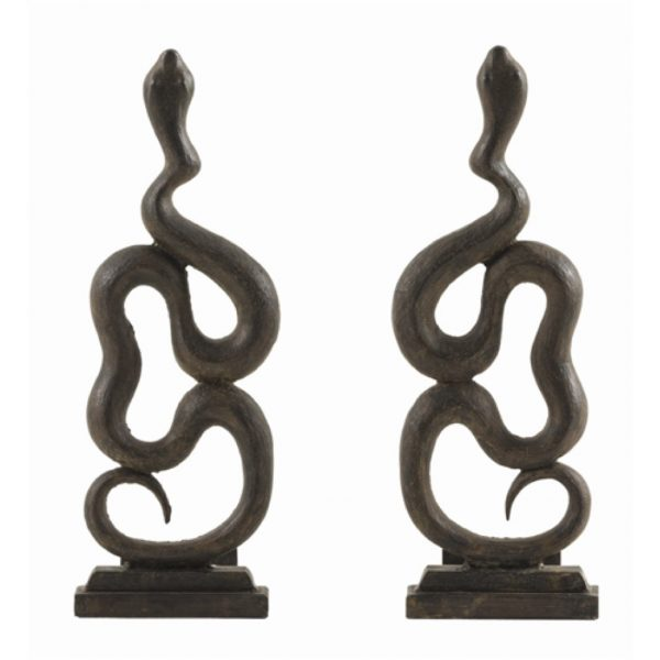 Pulp Home – Heath Andirons, Set of 2