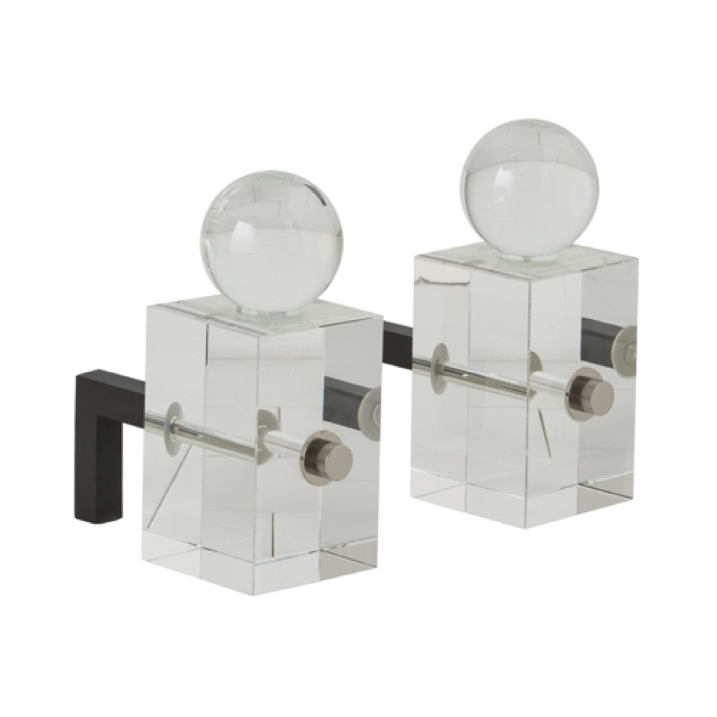 Pulp Home - Loyd Andirons, Set of 2