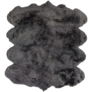 Pulp Home -Sheepskin Light Gray Rug 6 x 8