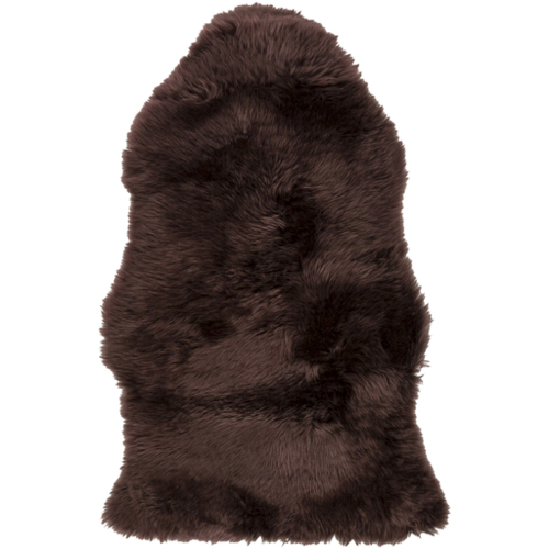 Pulp Home – Sheepskin Chocolate Rug 2 x 3