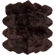 Pulp Home – Sheepskin Chocolate Rug 6 x 8