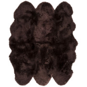 Pulp Home – Sheepskin Chocolate Rug 6 x 6