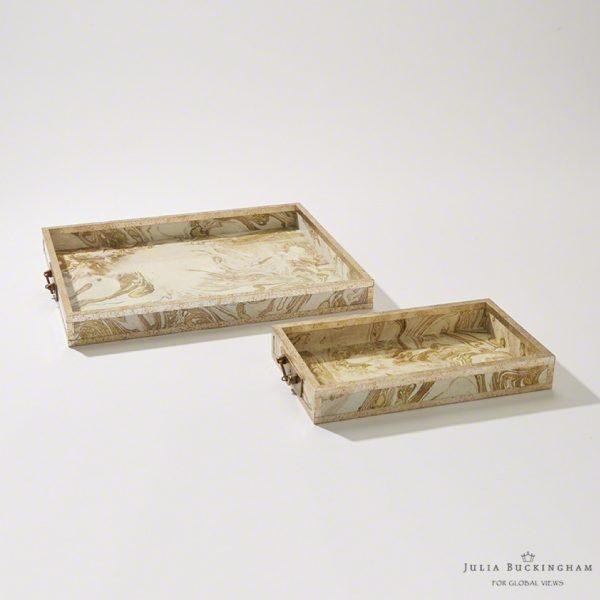 Pulp Home – Treasure Tray – Gold:Creme