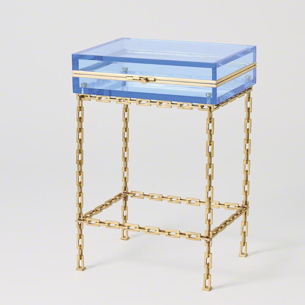 Pulp Home - Trinket Table - Aqua