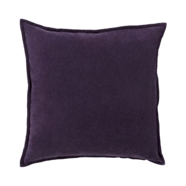 Pulp Home – Eggplant Cotton Velvet Pillow
