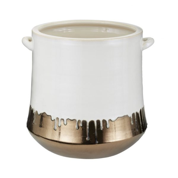 Pulp Home – Metallic Alloy Drip Crock