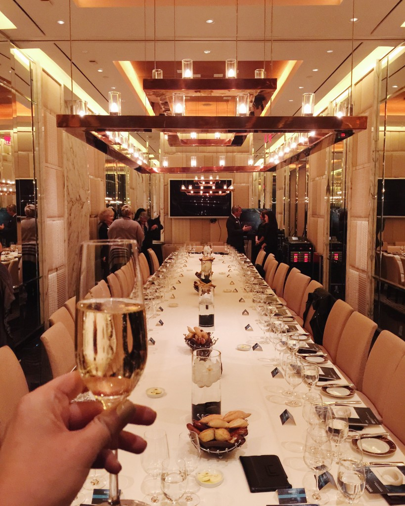 TOTO Dinner at SW Steakhouse Private Room