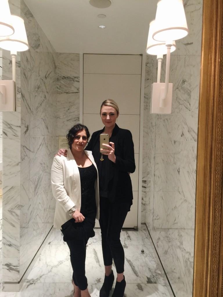 Beth and Carolina Pulp Vegas