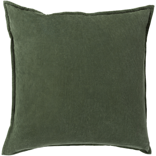 Pulp Home - Cotton Velvet Emerald Green Pillow