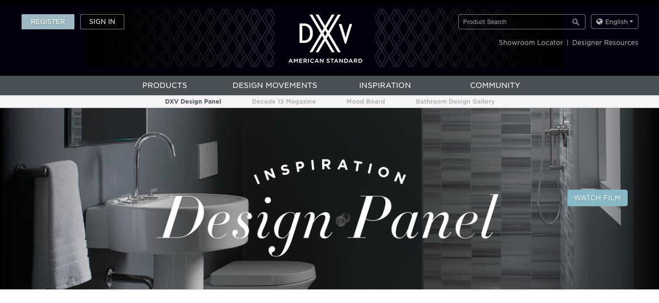 2016 DXV Design Panel
