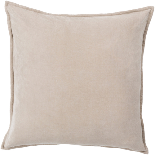 Pulp Home - Gray Cotton Velvet Pilllow