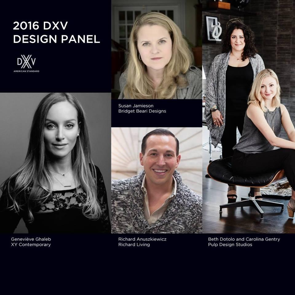 DXV 2016 Design Panel