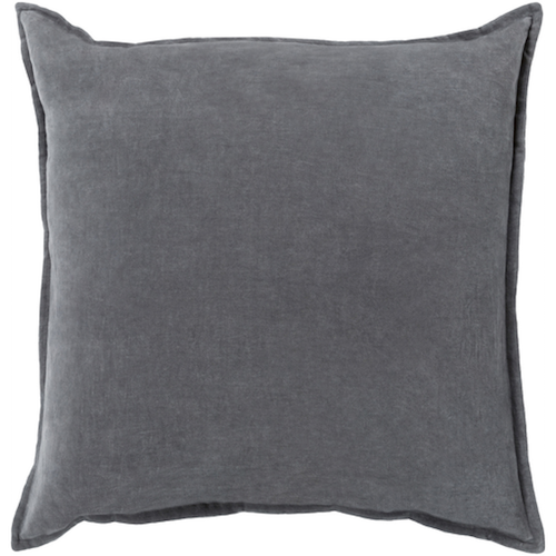 Pulp Home - Charcoal Velvet Pillow