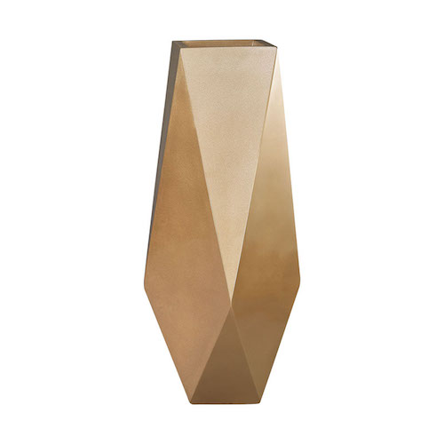 Pulp Home – Qattara Planter In Champagne Gold