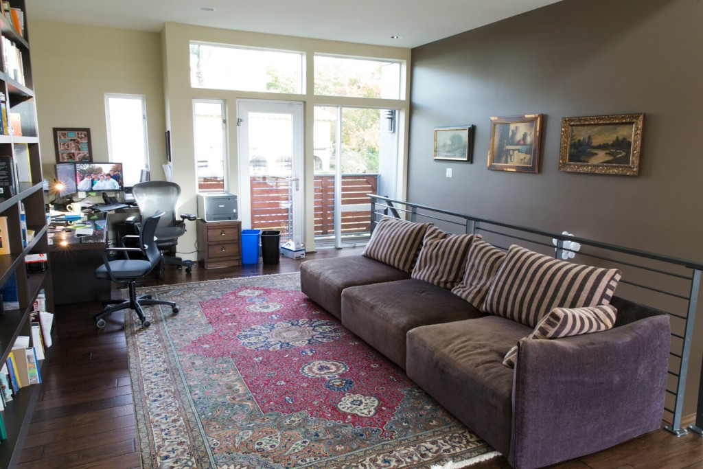 Home Office ATG Stores Seattle Showhouse BEFORE