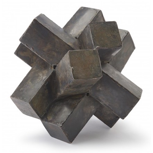 Pulp Home - Abstract Zinc Sculpture