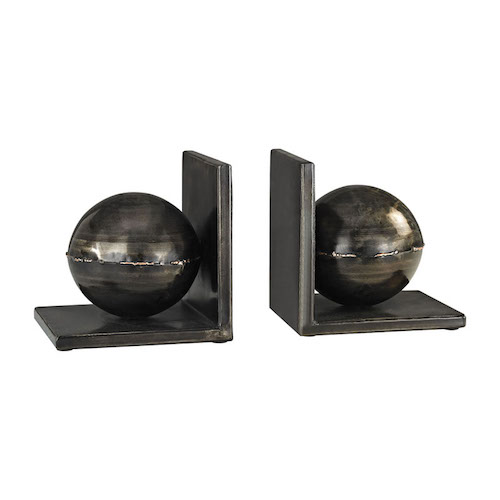 Pulp Home - Fugue Bookends In Holmes Bronze - Set of 2