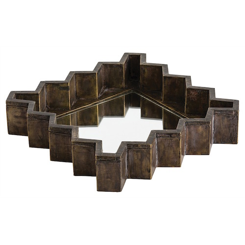 Pulp Home - Ziggurat Square Tray:Mirror