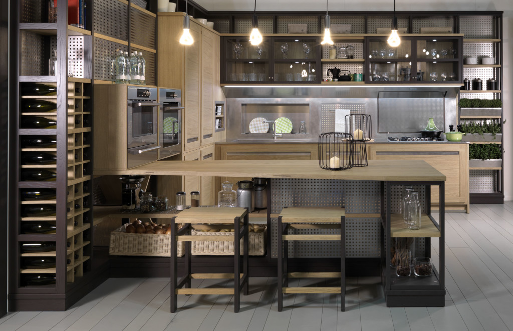 Rovereto Lottocento Kitchen