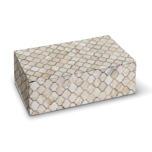 Pulp Home - Mosaic Quatrefoil Box - Large