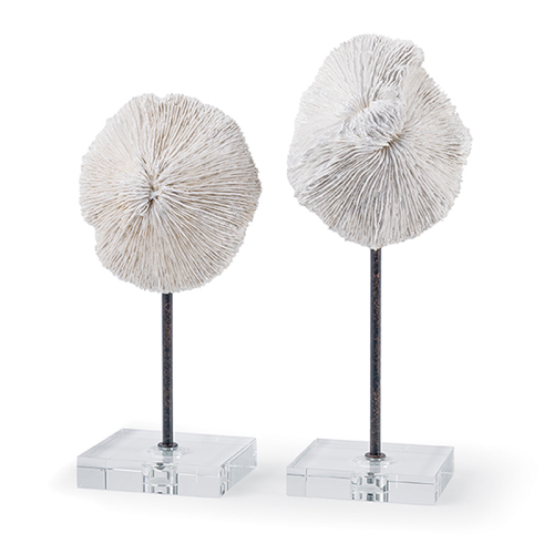 Pulp Home - Mushroom Coral Accessory Pair