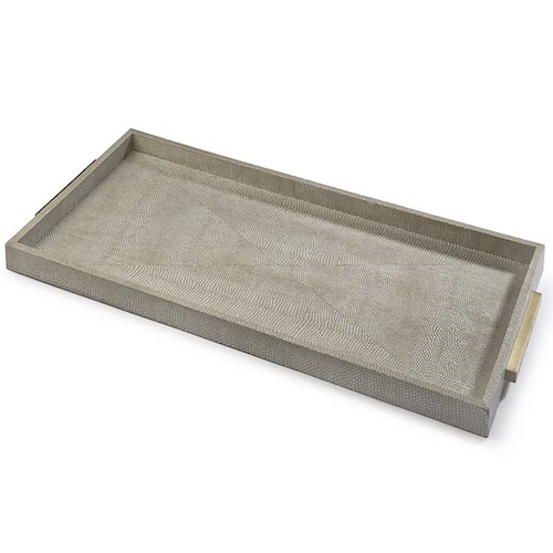 pulp designs shagreen tray