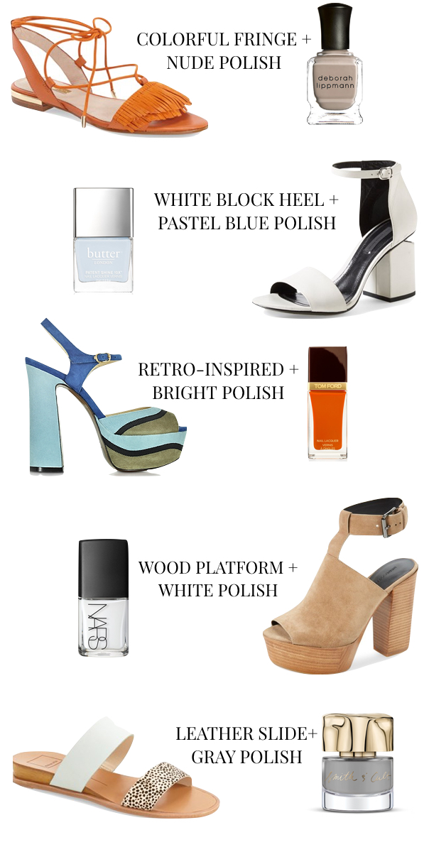 Summer Sandal + Nail Polish Trends.001