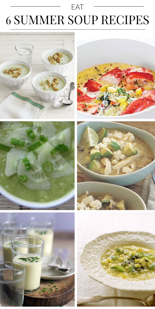 sumer soups, great soup recipes