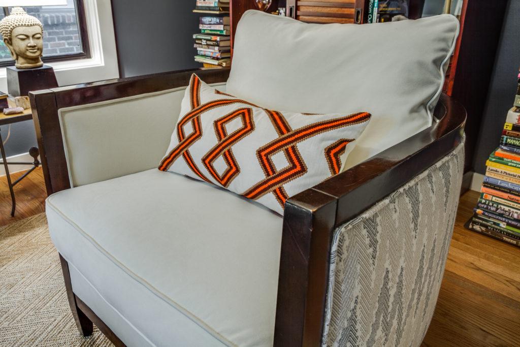 Pulp Design Studios Ultrasuede Chair