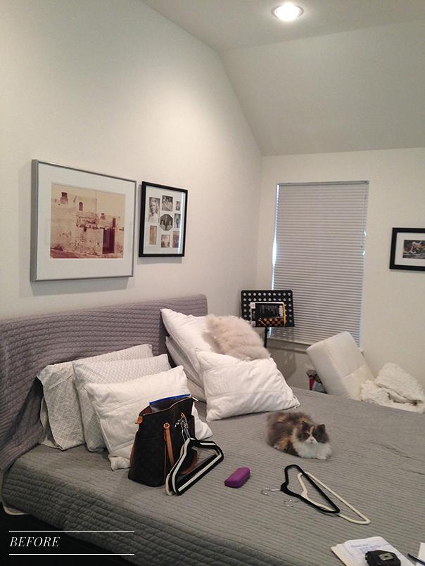 Pulp Design Studios Vibrant Townhome - Master Bedroom 2 - BEFORE