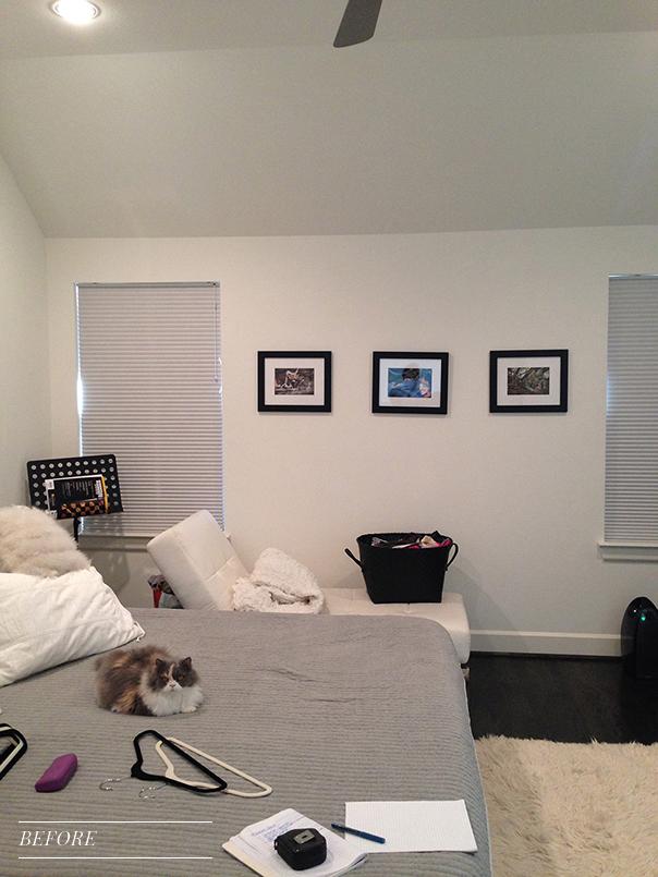 Pulp Design Studios Vibrant Townhome - Master Bedroom - BEFORE