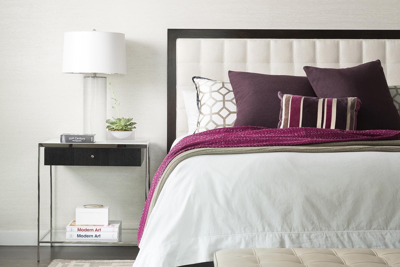 Pulp Sourcebook Sophisticated Master Bedroom Oasis Pulp Design Studios