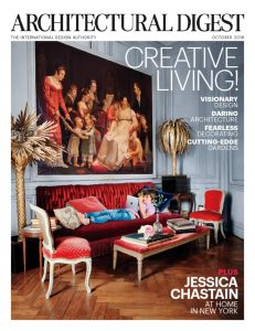 Architectural Digest Cover, Oct. 2016