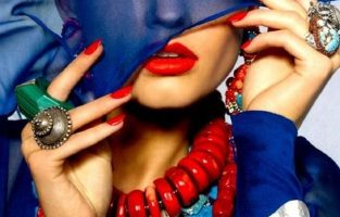Hot Fall Trend: Red & Blue