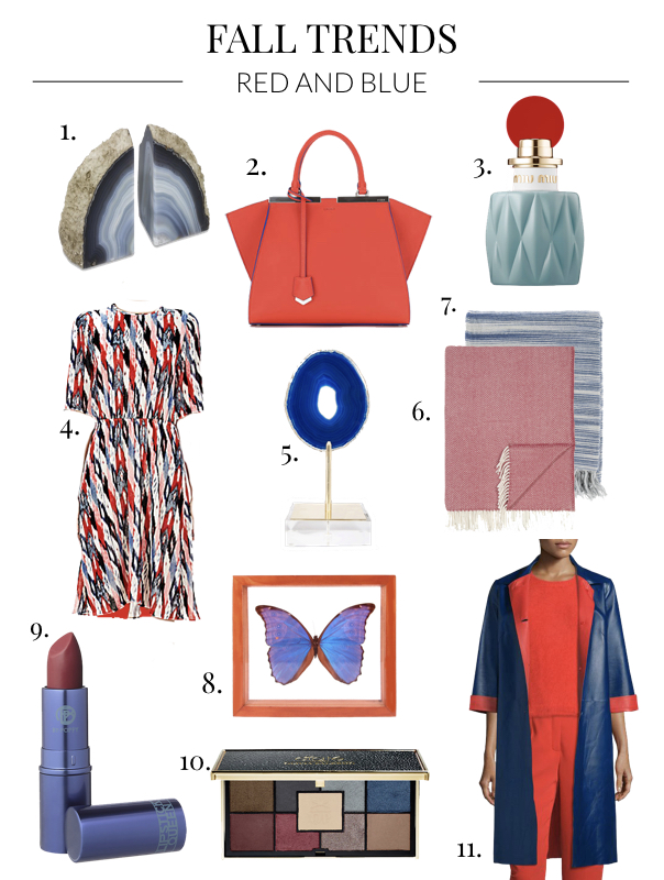 Fall Trends 2016: Red and Blue