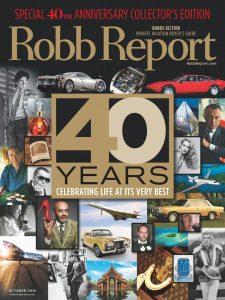 Robb Report Oct. 2016